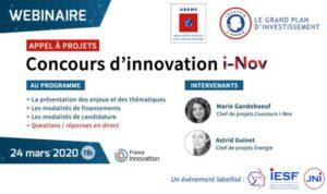 [Webinaire] Concours d'innovation : la 5e vague est lancée ! @ France Innovation | Ivry-sur-Seine | Île-de-France | France