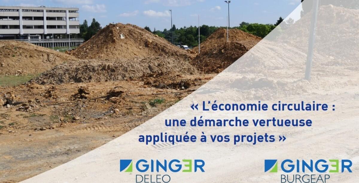 [EN LIGNE] L'économie circulaire : une démarche vertueuse appliquée à vos projets BTP @ EN LIGNE