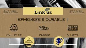 Ephémère & Durable II : Weekend at Link Us @ Link Us Bar | Clermont-Ferrand | Auvergne-Rhône-Alpes | France