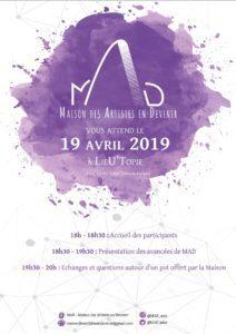 MAD - Réunion publique n°2 @ LieU'topie | Clermont-Ferrand | Auvergne-Rhône-Alpes | France