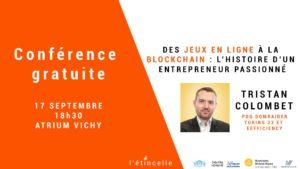 Conférence Gratuite : Tristan Colombet @ L'Étincelle | Vichy | Auvergne-Rhône-Alpes | France