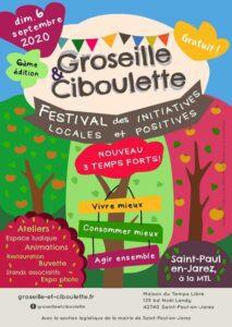 Festival Groseille et Ciboulette 2020 @ Saint-Paul-en-Jarez | Auvergne-Rhône-Alpes | France
