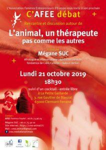 C'Afee Débat ! - L'animal, un thérapeute pas comme les autres @ La petite Gaillarde | Clermont-Ferrand | Auvergne-Rhône-Alpes | France