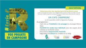 Café campagne Clermont-Ferrand @ Epicentre Factory