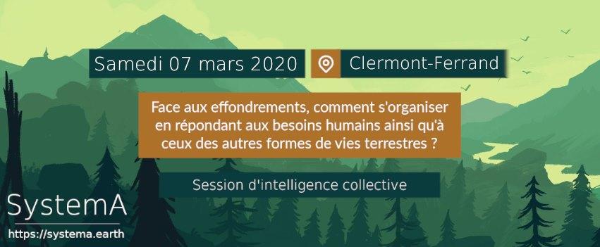 Session d'intelligence collective : Effondrement et Résilience @ Université populaire et citoyenne du Puy-de-Dôme | Clermont-Ferrand | Auvergne-Rhône-Alpes | France