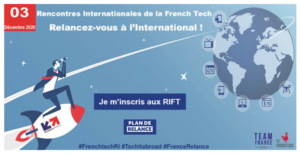 [EN LIGNE] Les Rencontres Internationales de la French Tech 2020 : Relancez-vous à l'International ! @ En Ligne