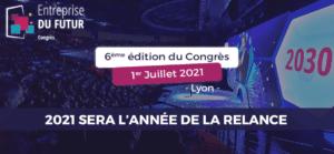 [SUR PLACE] 6ème édition du Congrès Entreprise du Futur à Lyon @ GROUPAMA STADIUM | Décines-Charpieu | Auvergne-Rhône-Alpes | France
