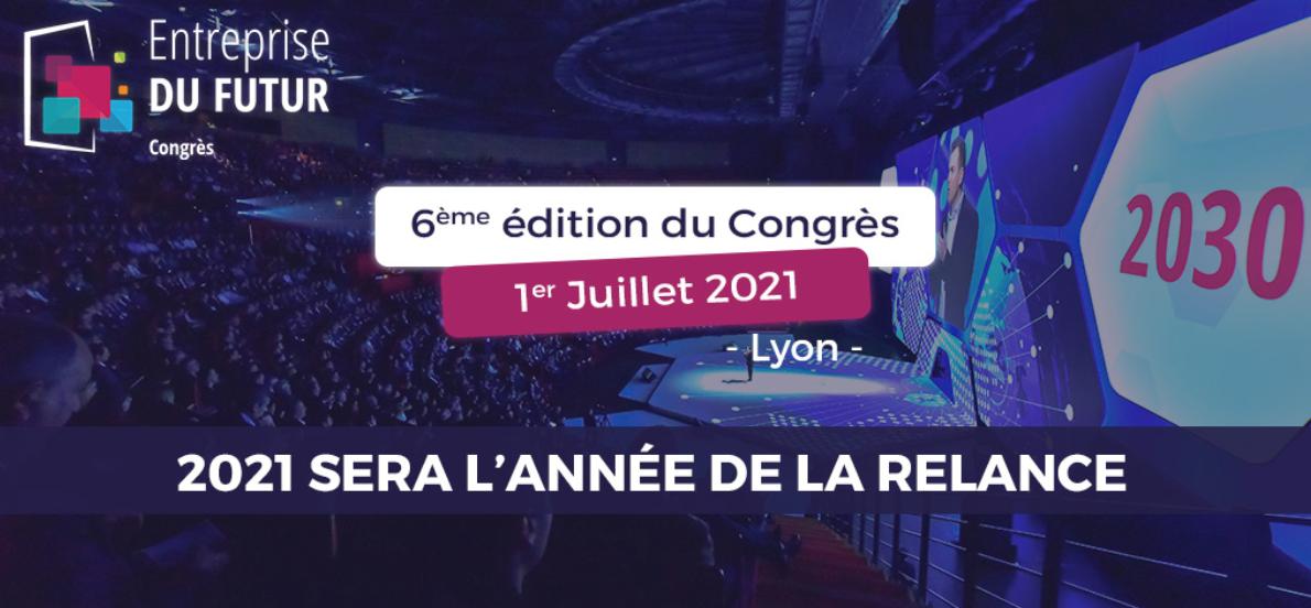 [SUR PLACE] 6ème édition du Congrès Entreprise du Futur à Lyon @ GROUPAMA STADIUM   Décines-Charpieu   Auvergne-Rhône-Alpes   France
