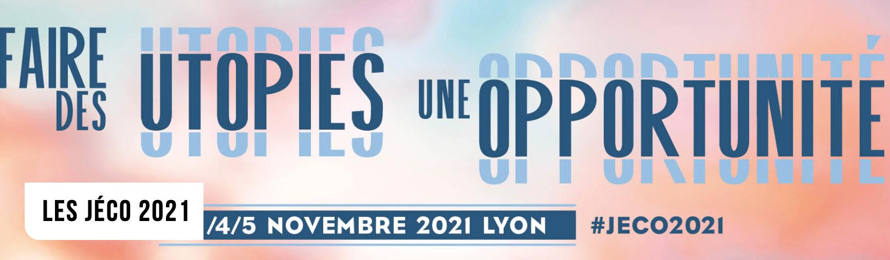 [SUR PLACE] Journées de l'Economie @ Lyon   Auvergne-Rhône-Alpes   France