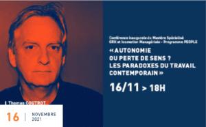 [SUR PLACE] Autonomie ou perte de sens ? Les paradoxes du travail contemporain @ ESC Clermont Business School | Clermont-Ferrand | Auvergne-Rhône-Alpes | France