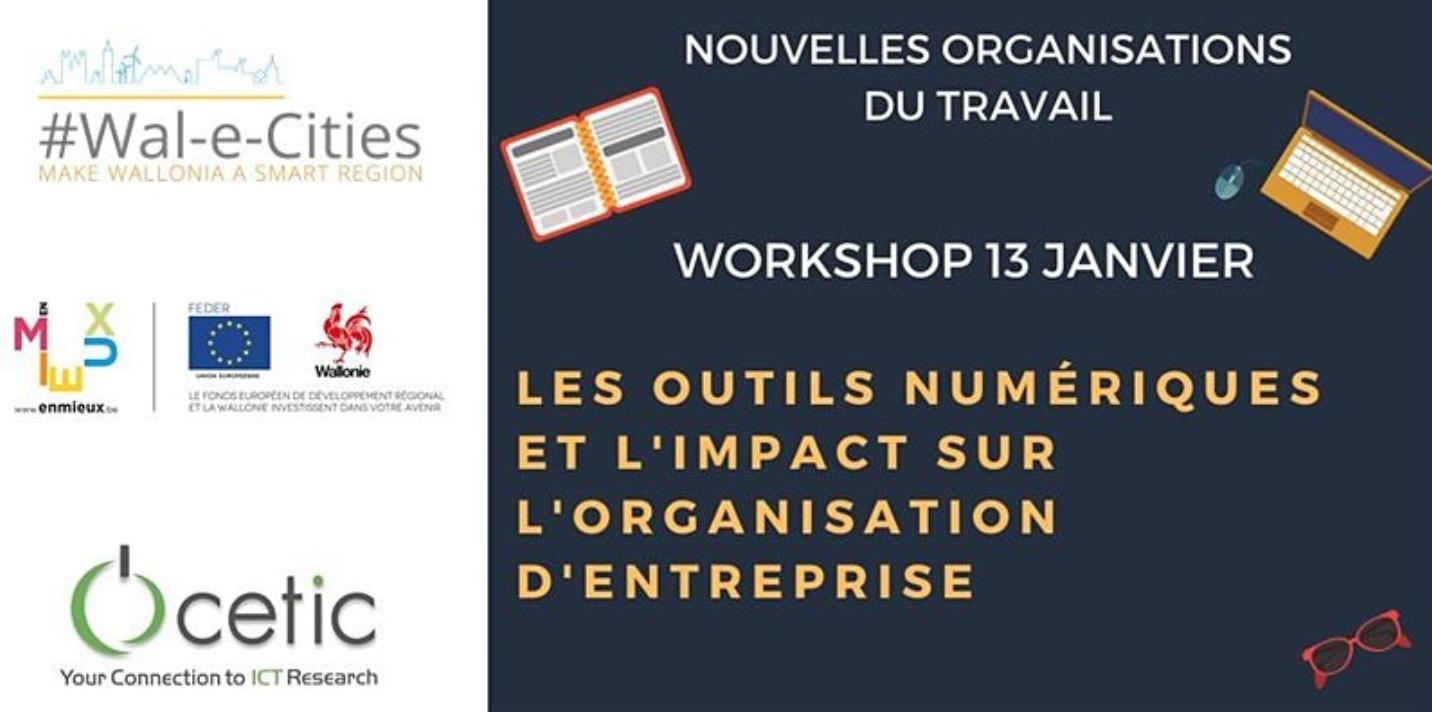 [EN LIGNE] Les outils numériques et l'impact sur l'organisation d'entreprise @ EN LIGNE