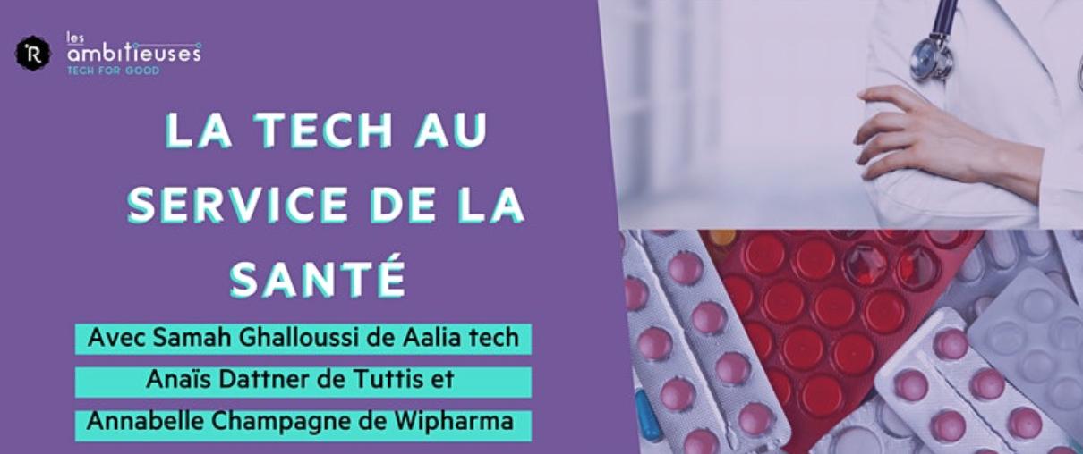 [EN LIGNE] La Tech au service de la santé @ EN LIGNE