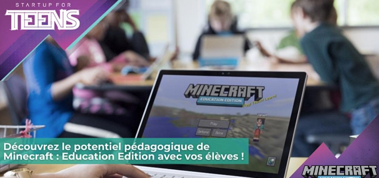 [EN LIGNE] Webinaire – Découvrez Minecraft : Education Edition ! @ EN LIGNE