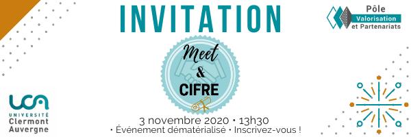 """""""Meet & CIFRE"""" @ En ligne"""