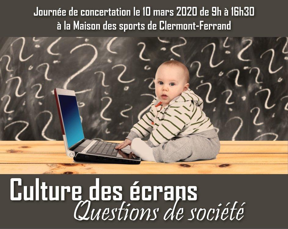 Culture des écrans - Question de société @ Maison des sports | Clermont-Ferrand | Auvergne-Rhône-Alpes | France