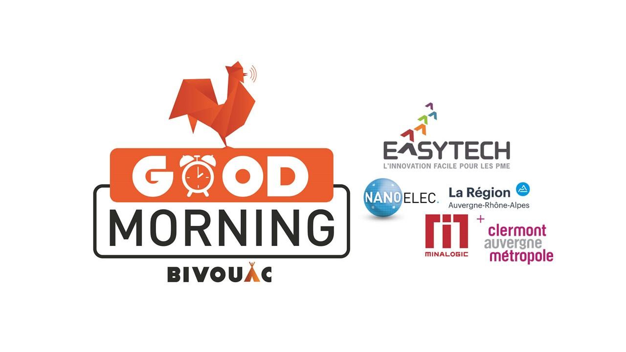 Good Morning Easytech by Minalogic @ Hôtel de Région (Clermont)