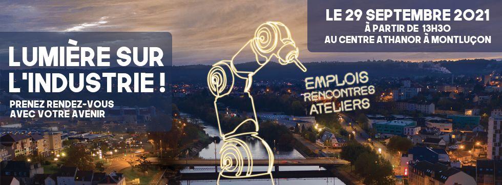 [SUR PLACE] Lumière sur l'Industrie @ ATHANOR   Montluçon   Auvergne-Rhône-Alpes   France