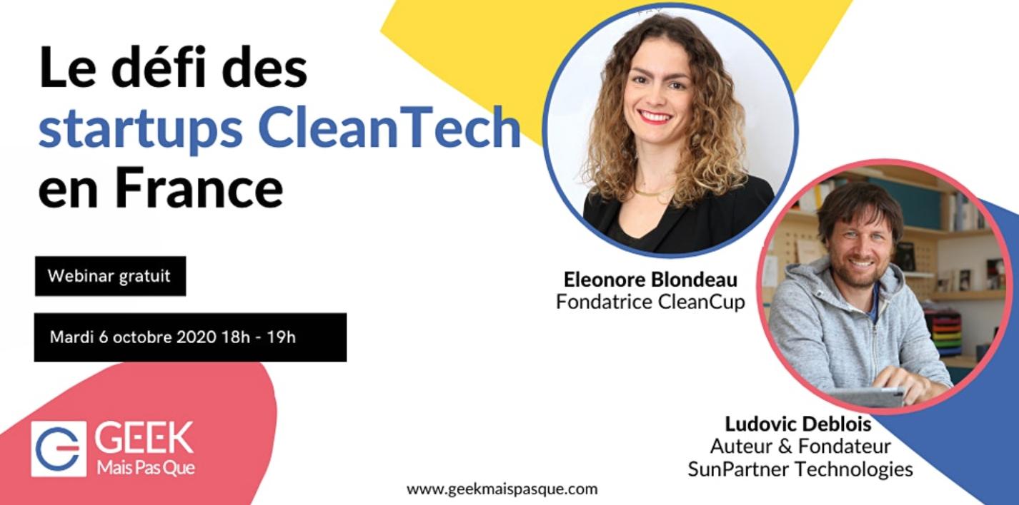 Le défi des startups CleanTech en France