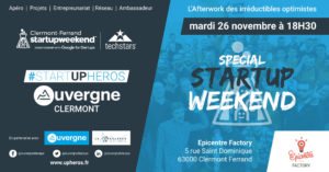 #Uphéros Spécial Start Up Week End @ Epicentre Factory | Clermont-Ferrand | Auvergne-Rhône-Alpes | France