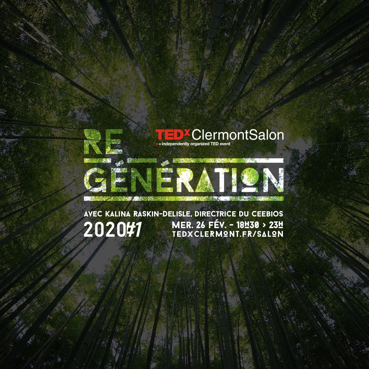 TEDxClermontSalon 2020#1 : Biomimétisme et Bio-Inspiration @ Espace Montagne | Clermont-Ferrand | Auvergne-Rhône-Alpes | France