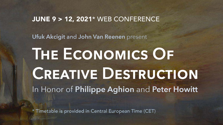 [EN LIGNE] The Economics of Creative Destruction @ EN LIGNE
