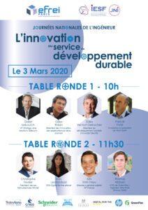 L'innovation au service du développement durable @ Campus Efrei Paris | Villejuif | Île-de-France | France