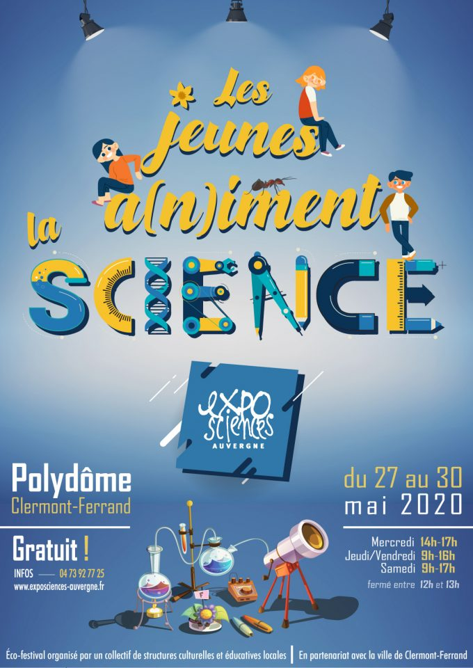 Exposciences 2020 @ Polydôme   Clermont-Ferrand   Auvergne-Rhône-Alpes   France