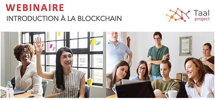 WEBINAIRE - Introduction à la Blockchain @ En ligne