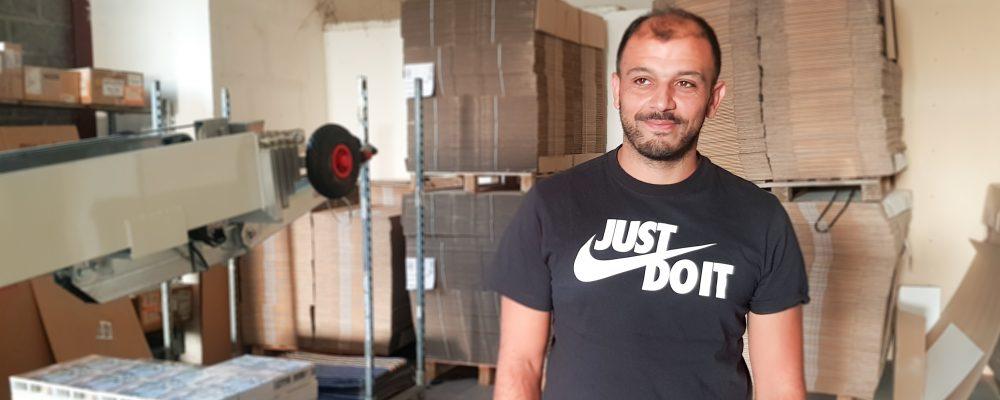 Faycal Hamza, le déménageur bankable