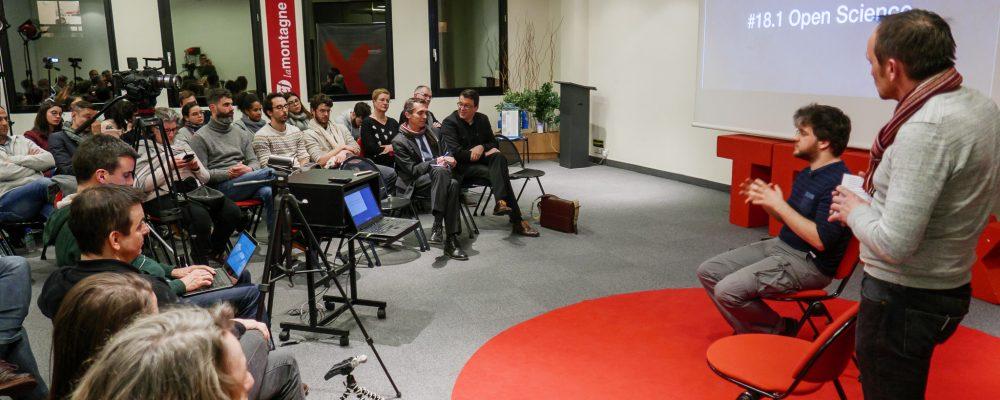 TEDxClermontSalon «Open Science» (28/2/18)