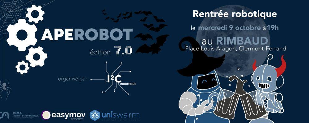 Aperobot Auvergne 7.0 – Rentrée Robotique
