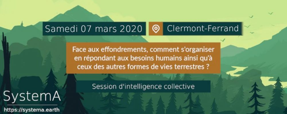 Session d'intelligence collective : Effondrement et Résilience