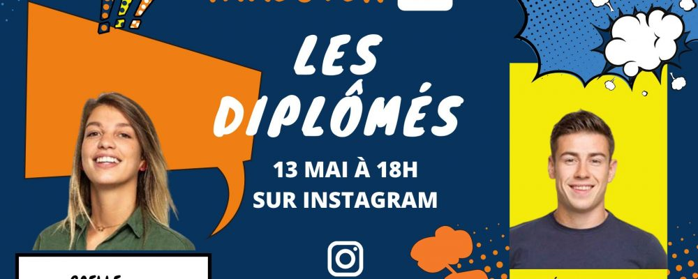 TakeOver Instagram avec Gaëlle et Edouard, promo 2019