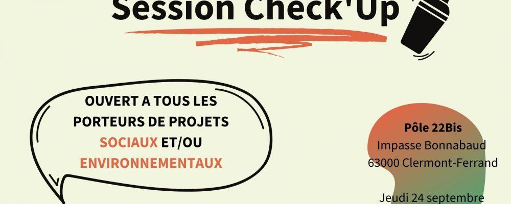 Session Check Up Clermont : Projets sociaux et environnementaux