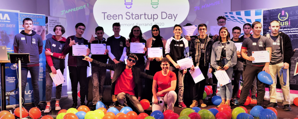 Reportage – Le Teen Startup Day 2020