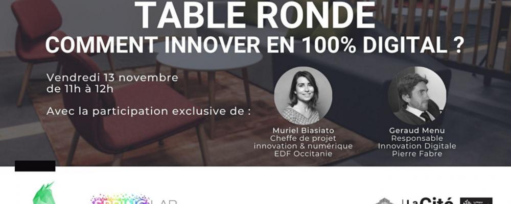 Comment innover en 100% digital ?