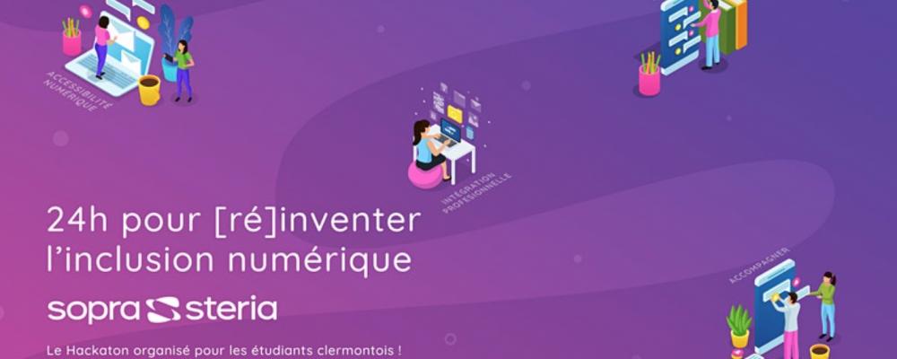 [SUR PLACE] Hackathon In'Auvergne 2021