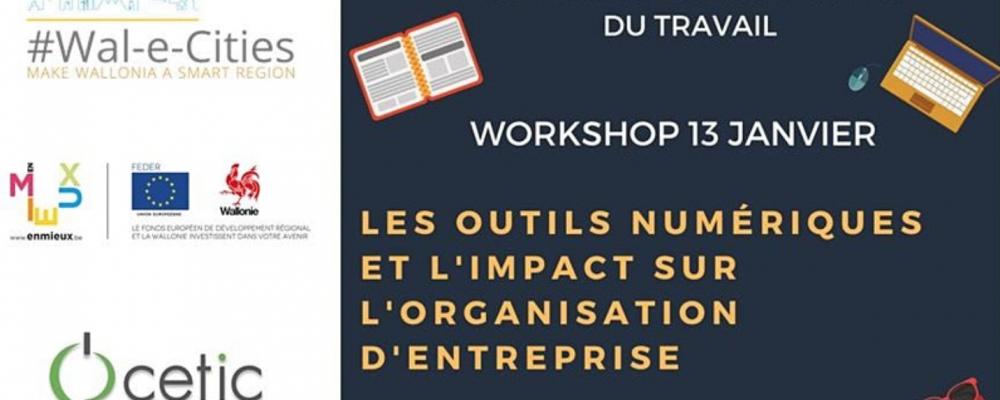 [EN LIGNE] Les outils numériques et l'impact sur l'organisation d'entreprise