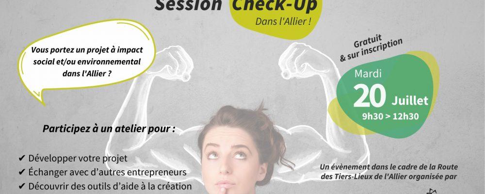 [SUR PLACE] Session Check-Up – Un atelier gratuit pour les porteurs de projet dans l'Allier !