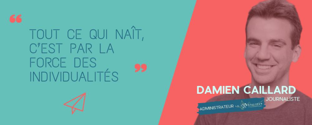 Damien Caillard: journalisme, environnement et … bilboquet.