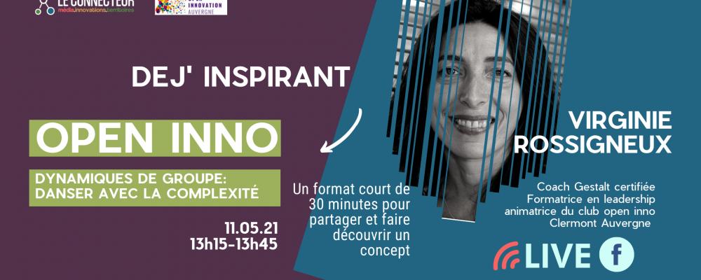 Dej'Inspirant Club Open Inno- Virginie Rossigneux.