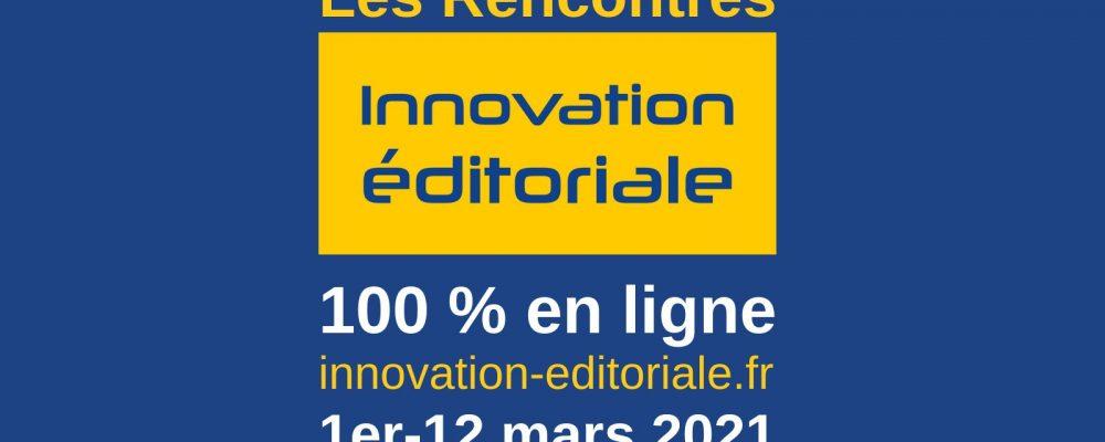 [EN LIGNE] Rencontres de l'innovation éditoriale