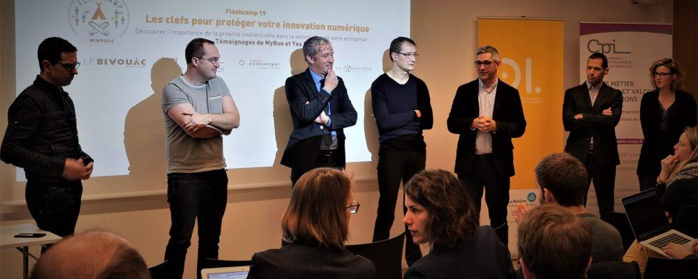 Compte-Rendu / Flashcamp #19 – Les clefs pour protéger votre innovation numérique [11/12/18]