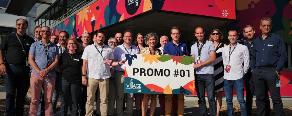 Promotion #1: Le Village By CA Centre-France, un nouvel accélérateur!