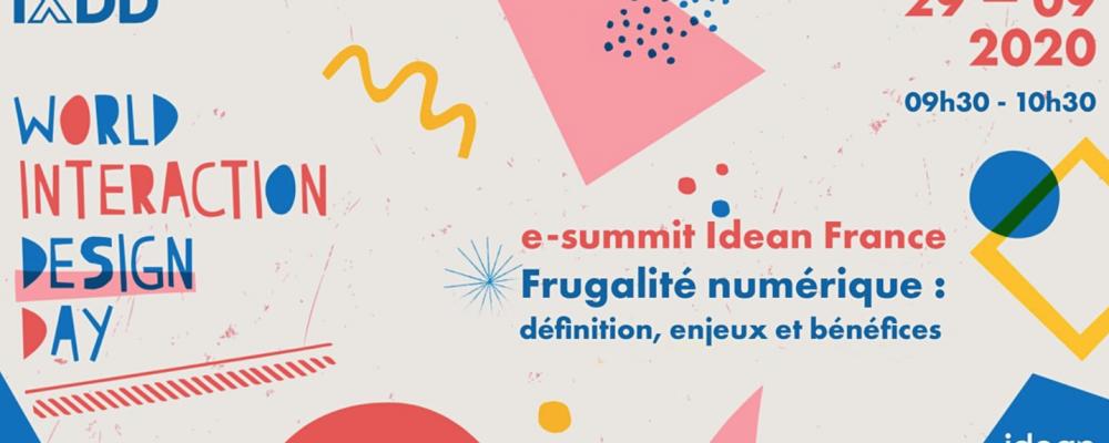 e-summit – Frugalité numérique : définition, enjeux et bénéfices