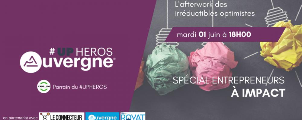 UPHEROS Clermont-Ferrand juin 2021, reprise sous la tendance de l'IMPACT !