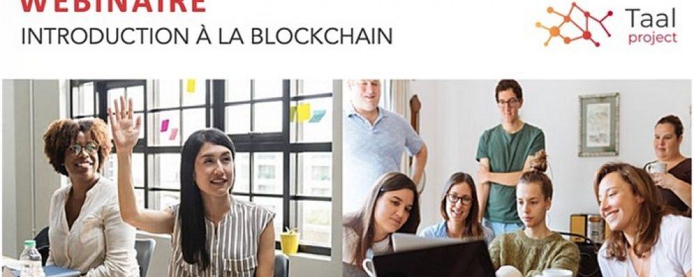 WEBINAIRE – Introduction à la Blockchain