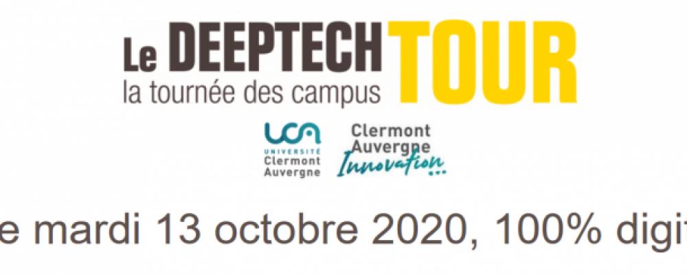 Le Deeptech Tour de Bpifrance fait une escale digitale à Clermont-Ferrand !