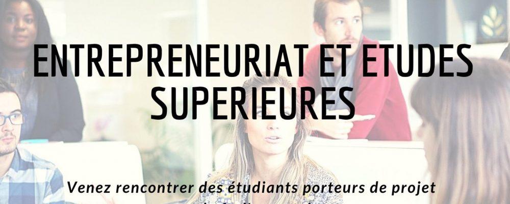 L'entrepreneuriat et études supérieures