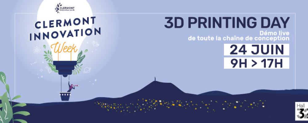 [SUR PLACE] 3D Printing Day !